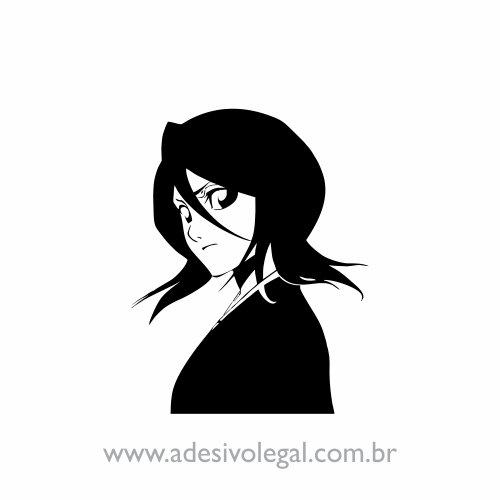 Adesivo - Rukia - Bleach