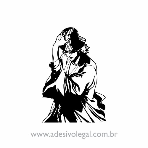 Adesivo - Urahara - Bleach