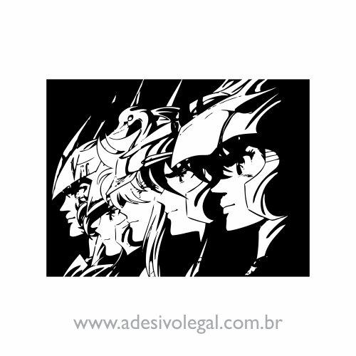 Adesivo - Cavaleiros do Zodíaco