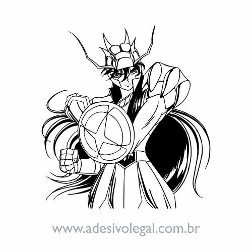 Adesivo - Shiryu de Dragão