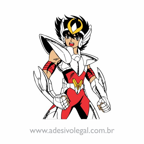 Adesivo - Seyia de Pégaso - Colorido