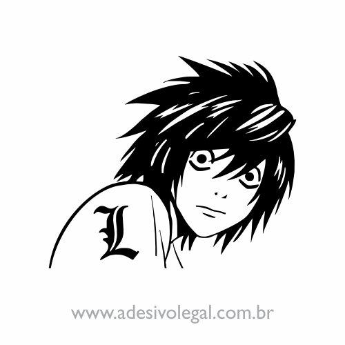 Adesivo - L - Death Note