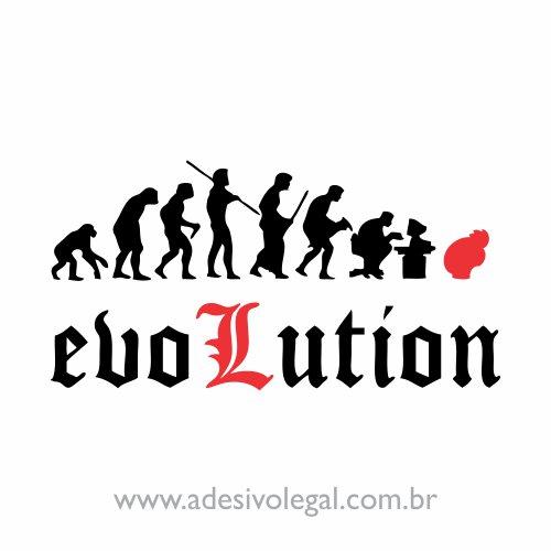 Adesivo - L Evolution - Death Note