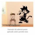 Adesivo - Goku Kamehameha