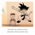 Adesivo - Goku Criança com Bastão