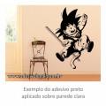 Adesivo - Goku Criança Saltando