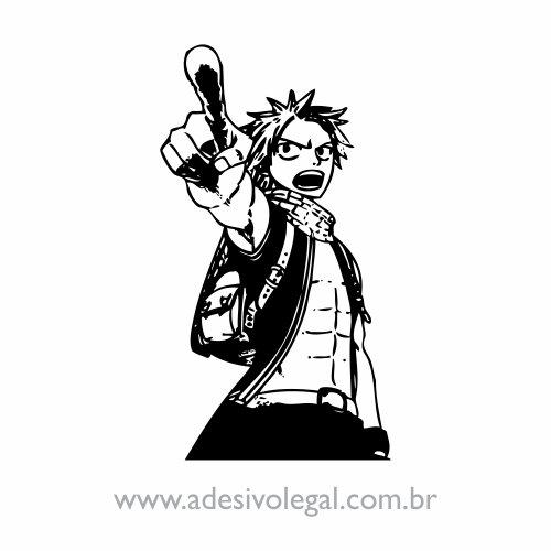 Adesivo - Natsu - Fairy Tail