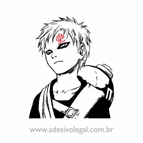 Adesivo - Gaara - Naruto