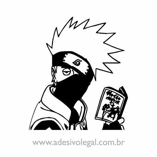 Adesivo - Kakashi - Naruto