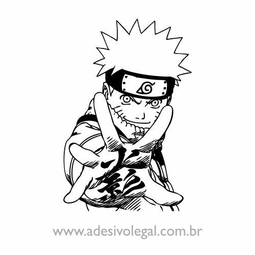 Adesivo - Uzumaki Naruto