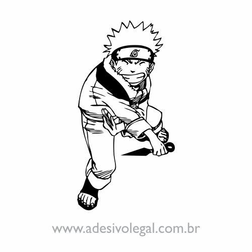 Adesivo - Naruto em Pé
