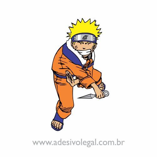 Adesivo - Naruto em Pé - Colorido