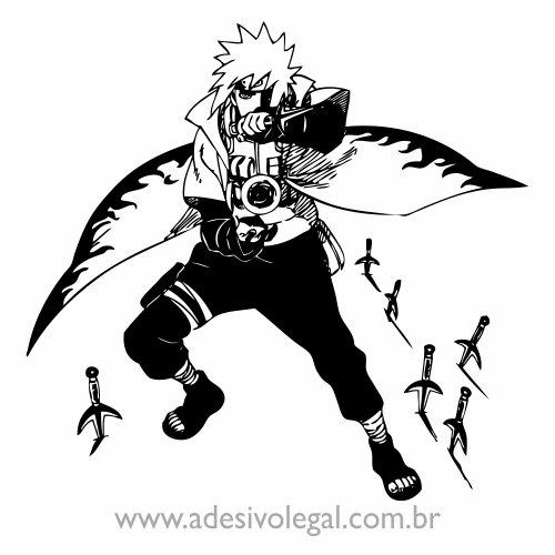 Adesivo - Minato Namikaze