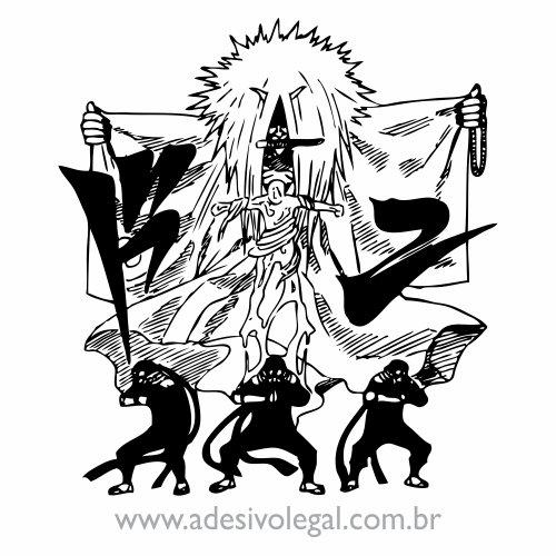 Adesivo - Sarutobi - Jutso de Selamento