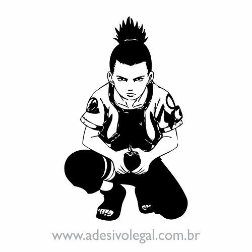Adesivo - Shikamaru