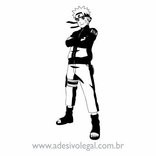 Adesivo - Uzumaki Naruto em Pé