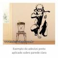 Adesivo - Naruto Agachado