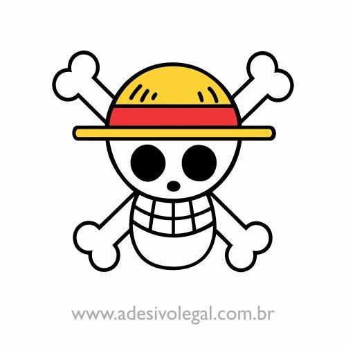 Adesivo - Símbolo Mugiwaras - One Piece