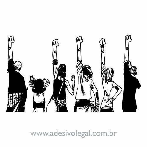 Adesivo - Despedida - One Piece
