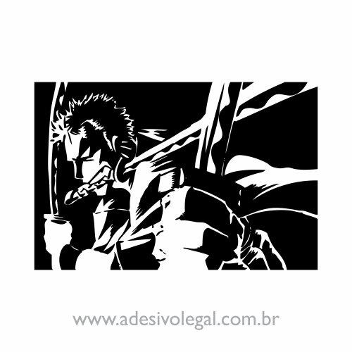 Adesivo - Roronoa Zoro - One Piece