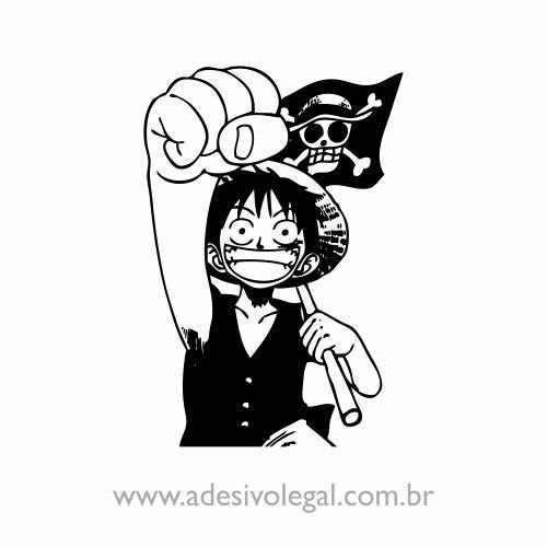 Adesivo - Luffy - One Piece