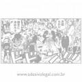 Adesivo - One Piece - Página do Mangá