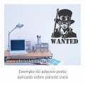 Adesivo - Sabo - Wanted - One Piece
