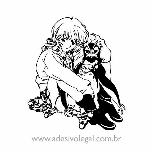 Adesivo - Evangelion