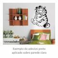 Adesivo - Garfield - Abraço