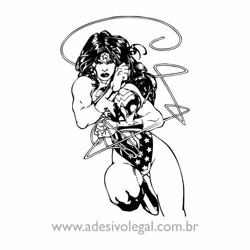 Adesivo - Mulher Maravilha