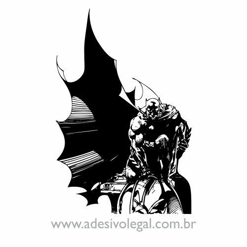 Adesivo - Batman Agachado