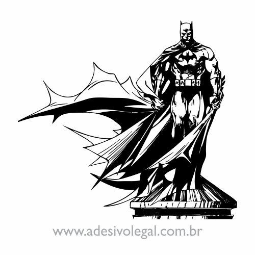 Adesivo - Batman em Pé