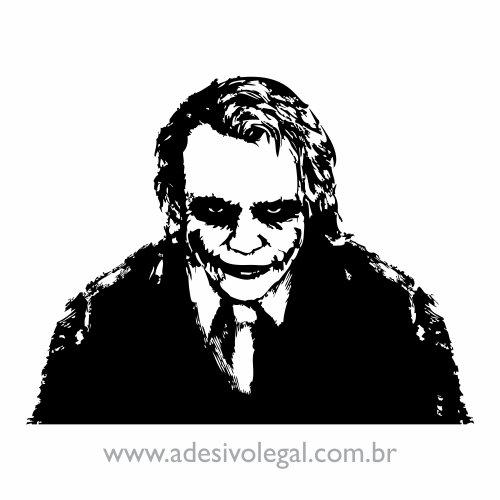 Adesivo - Coringa Heath Ledger