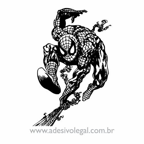 Adesivo - Homem Aranha Saltando