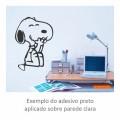 Adesivo - Snoopy Feliz