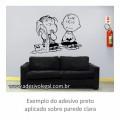 Adesivo - Linus e Charlie Brown