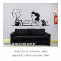 Adesivo - Snoopy - Schroeder e Lucy