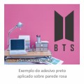 Adesivo - Kpop - BTS - Logo