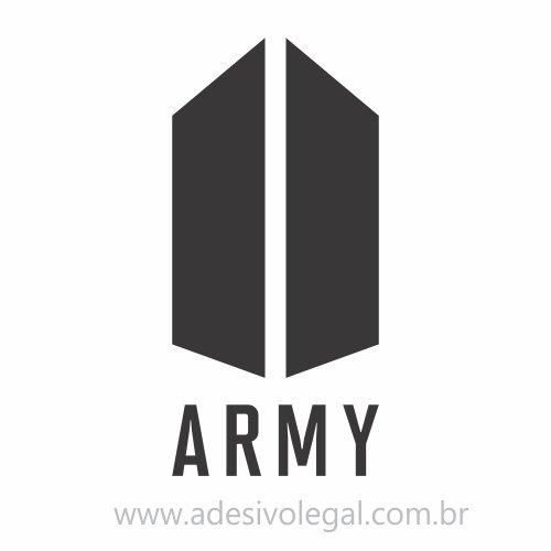 Adesivo - Kpop - BTS - Army