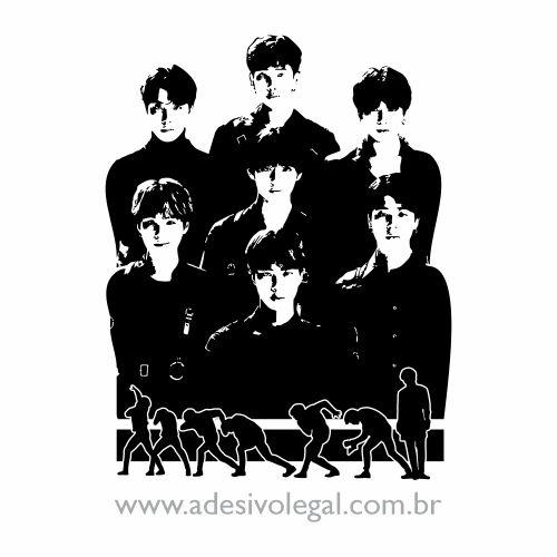 Adesivo - Kpop - BTS - Fake Love