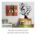 Adesivo - Árvore Musical