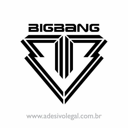 Adesivo - Kpop - BigBang - Logo
