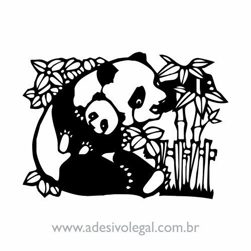 Adesivo - Oriental - Panda