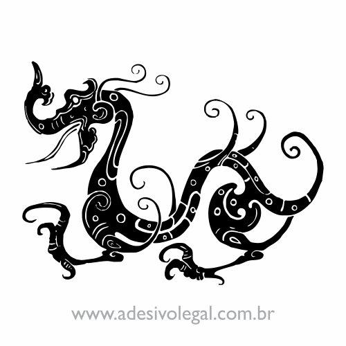 Adesivo - Oriental - Dragão