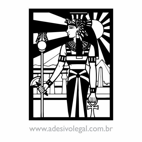 Adesivo - Ornamento Egípcio