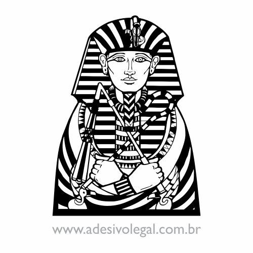 Adesivo - Ornamento Egípcio - Faraó