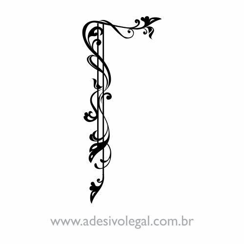 Adesivo - Ornamento Cantoneira