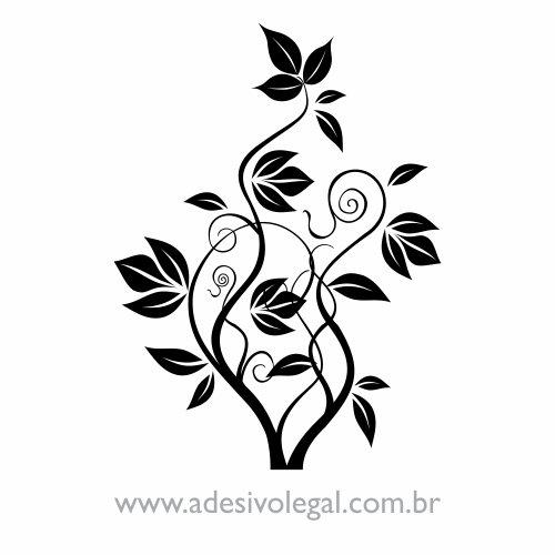Adesivo - Ornamento Floral