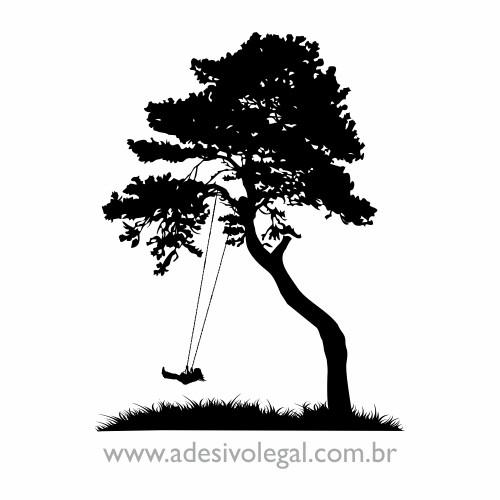 Adesivo - Ornamento Árvore com Balanço