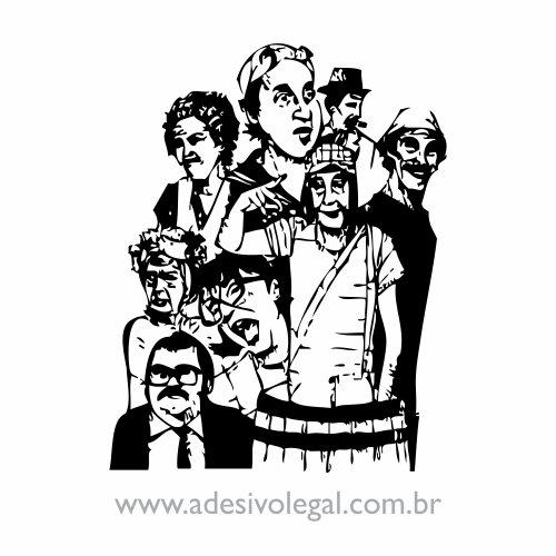 Adesivo - Turma do Chaves